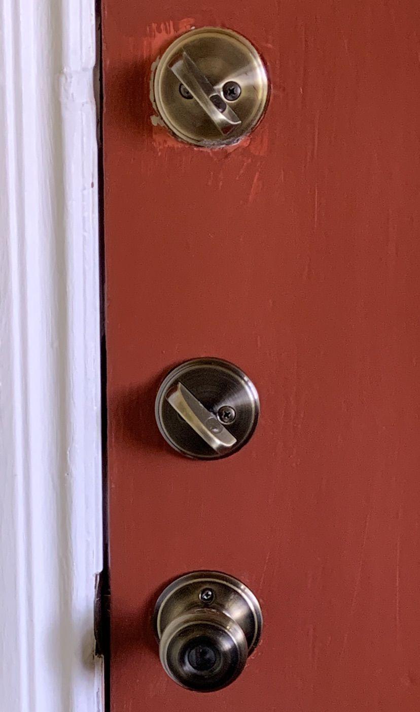 Front Door and lock-set complete repair
