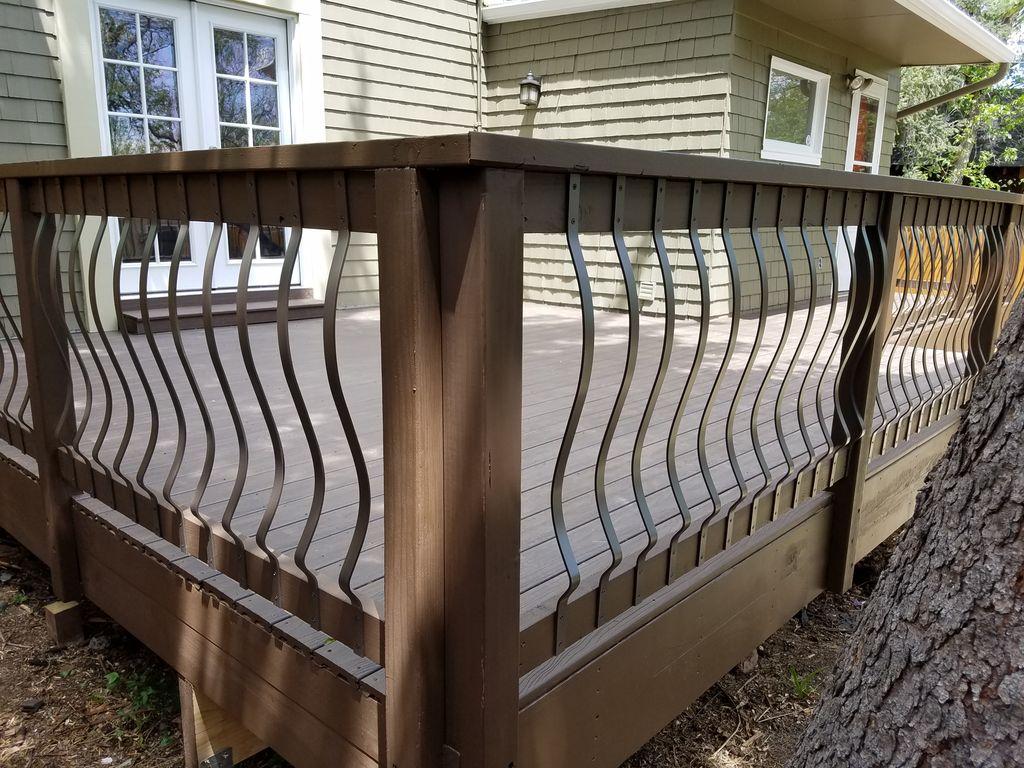 Victorian deck makeover