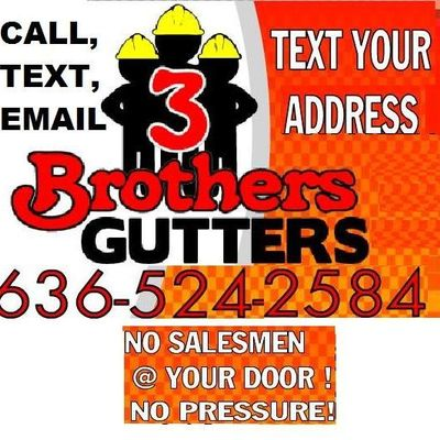 Avatar for 3 Brothers Gutters & More Wentzville, MO Thumbtack