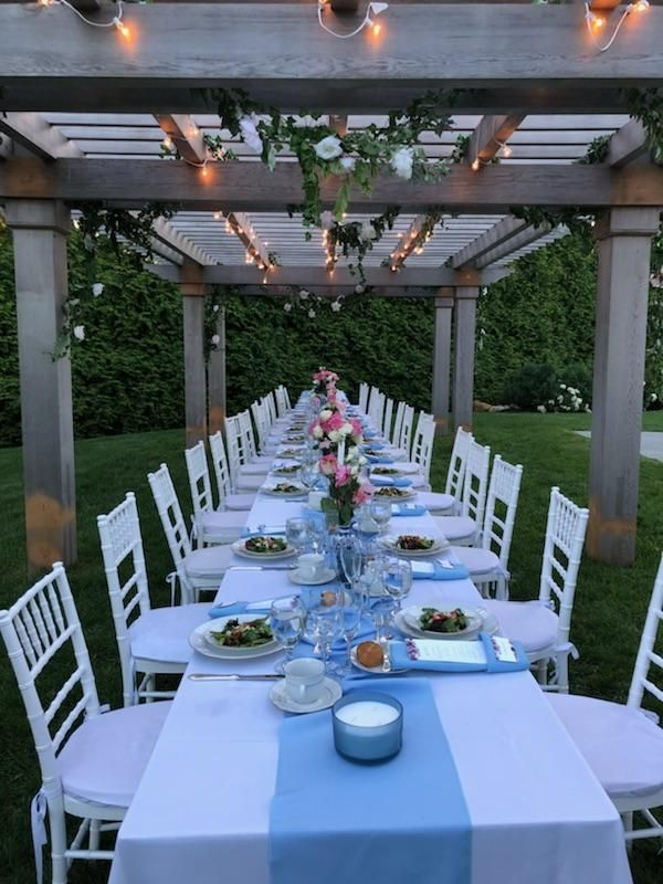 Outdoor Rehearsal Dinner