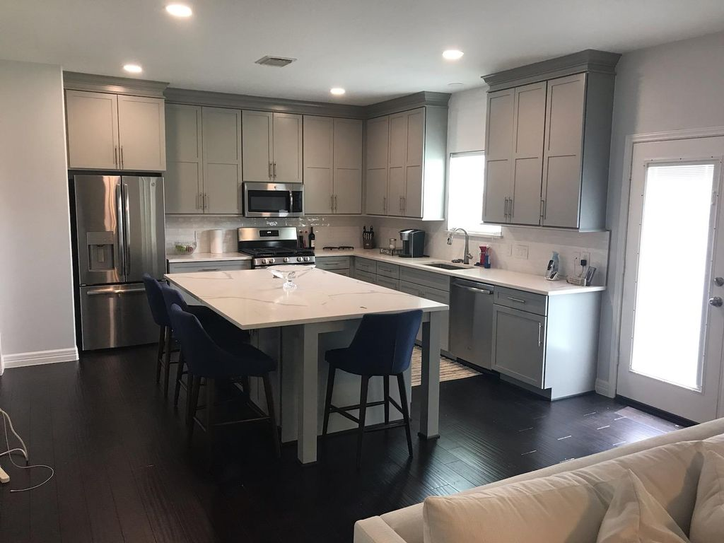 Kitchen, floors throughout, paint throughout