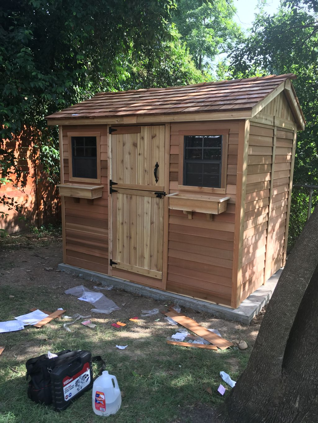 Shed for the backyard