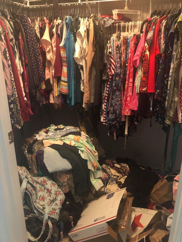 Master Bedroom and Closet organizing