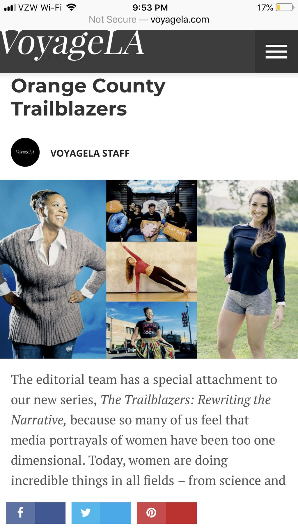 Featured in VoyageLA magazine 2019