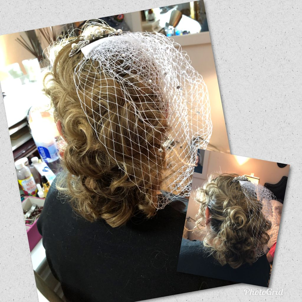 Hairstyling & Makeup Application For A Wedding Trial