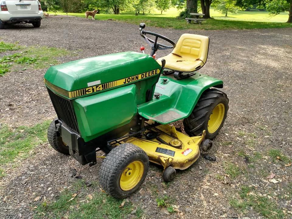 Riding mower Tune Up