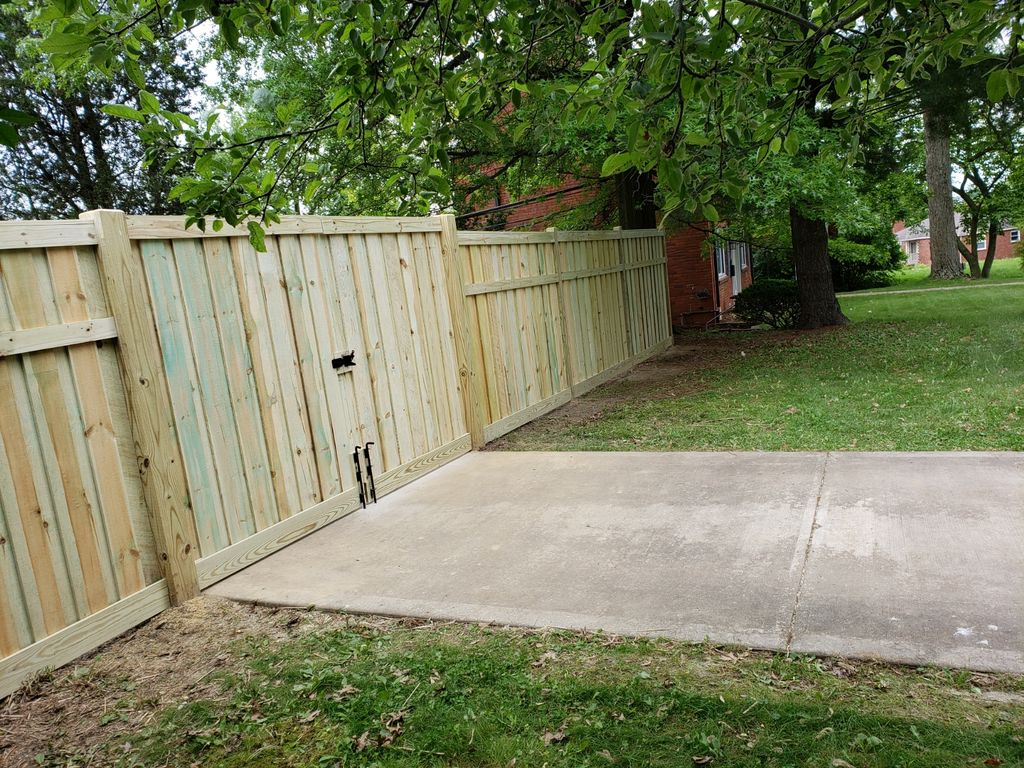 Fence and Gate Install