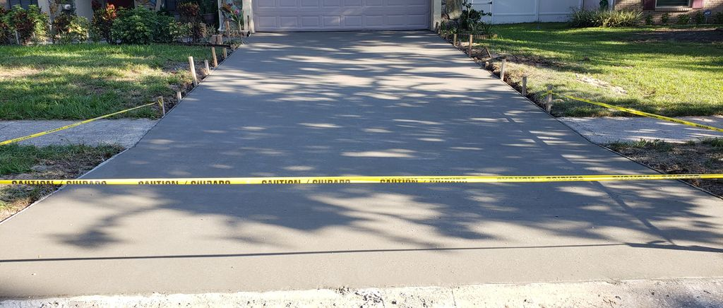 Driveway and Leadwalk Replacement