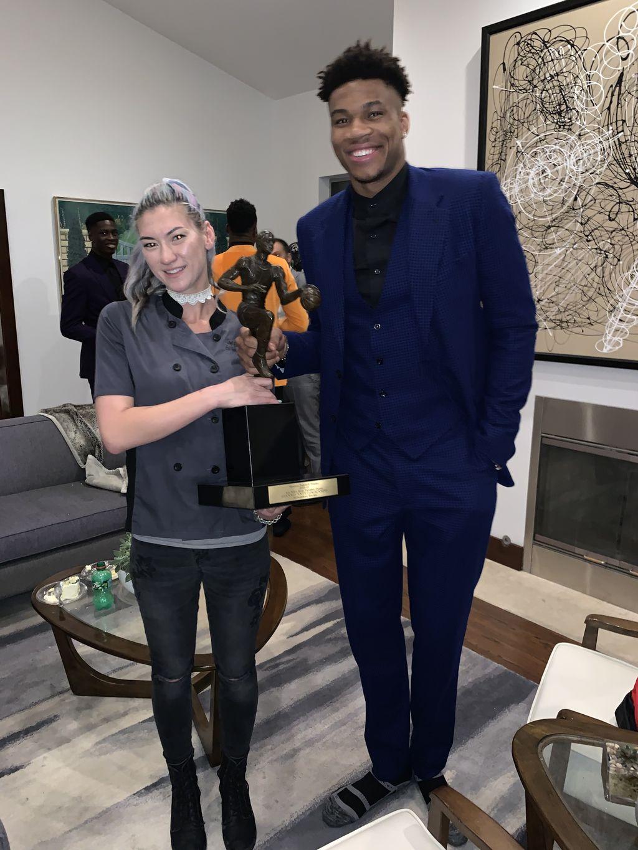 NBA Private MVP Celebratory Dinner for Giannis Antetokounmpo