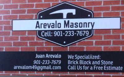 Avatar for Arevalo Masonry Cordova, TN Thumbtack