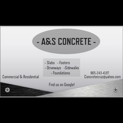 Avatar for A&S Concrete Knoxville, TN Thumbtack