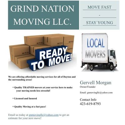 Avatar for GRIND NATION MOVING LLC. Xenia, OH Thumbtack