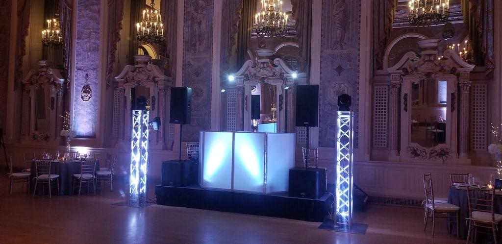Wedding Reception In Lights