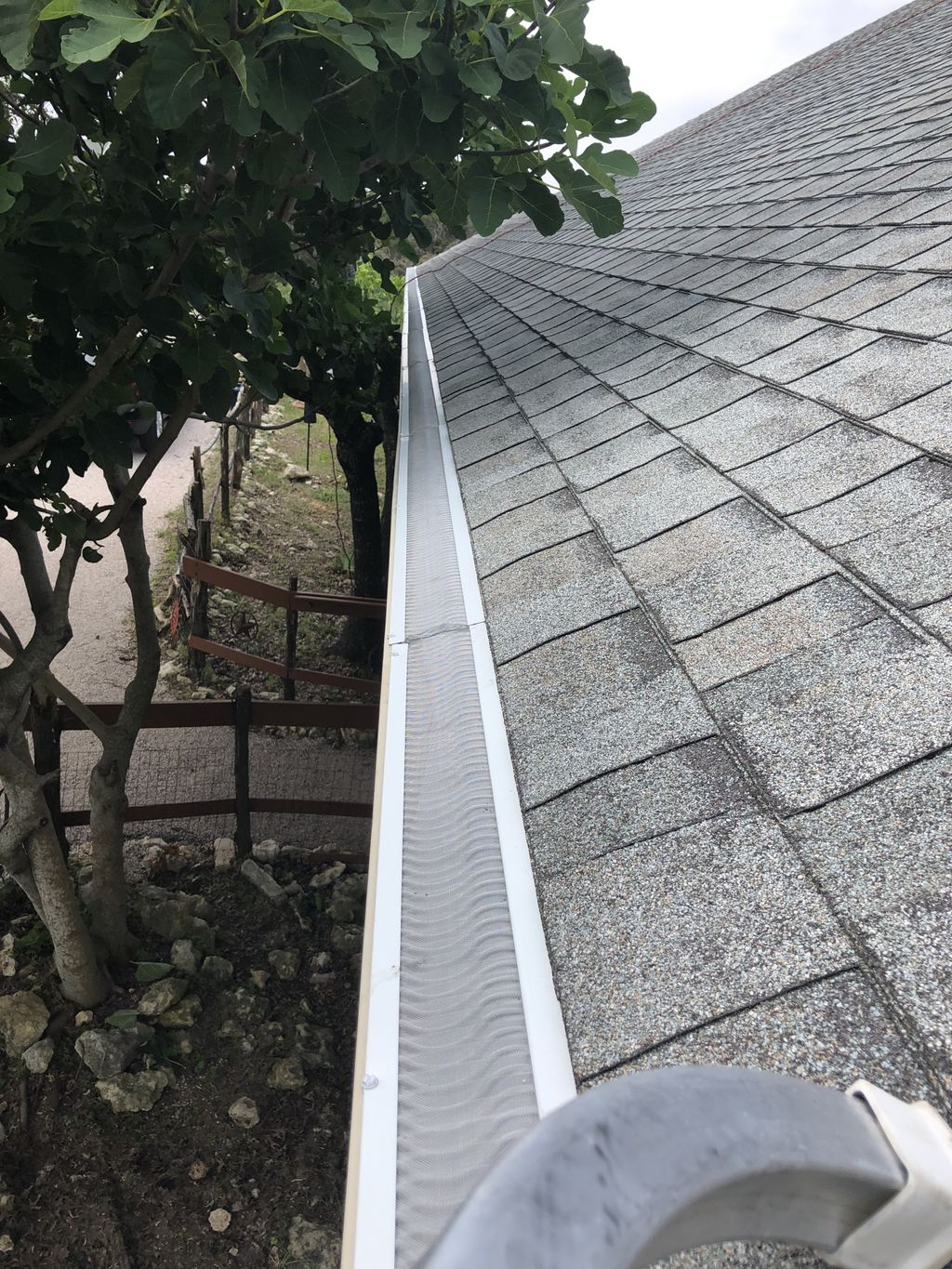 Clean, seal and install Valor Gutter Guards