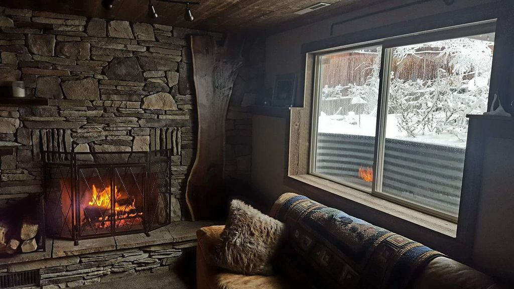 Family room fireplace makeover