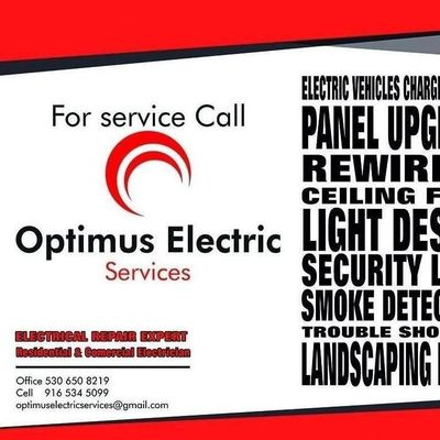 Avatar for Optimus Electric services