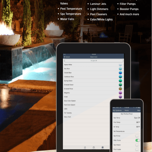 Control your pool from your phone!