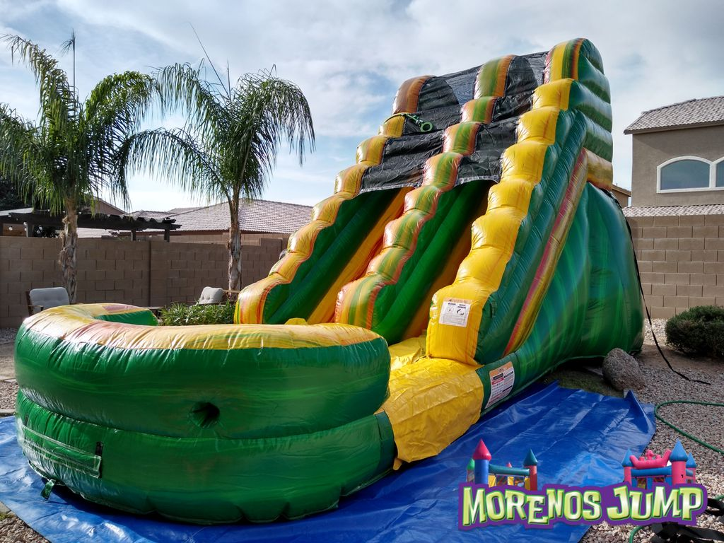 Water slide bday party