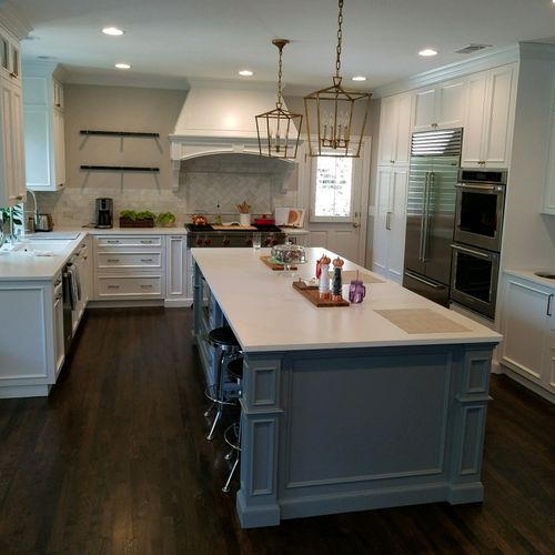 After view of Kitchen