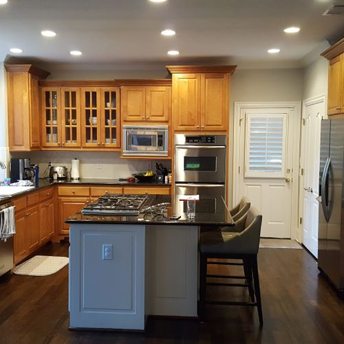 Before overview of Kitchen