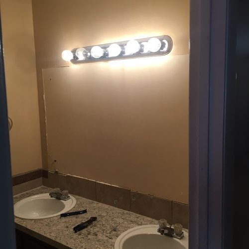 Mirror removal & disposal