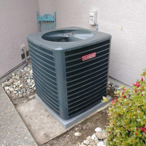 3 Ton AC Unit - Neatly Installed
