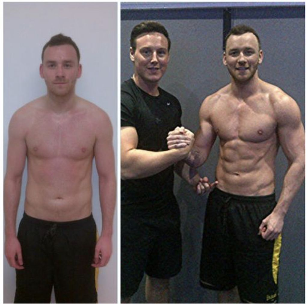 Male Muscle Gain & Toning