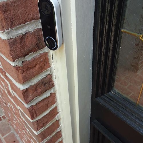 Nest Hello Doorbell installation