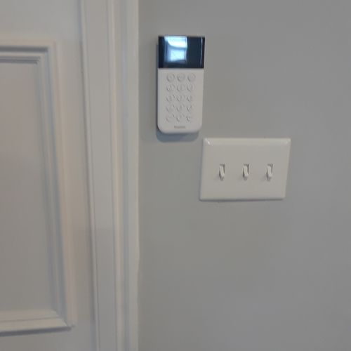 Simplisafe security system setup