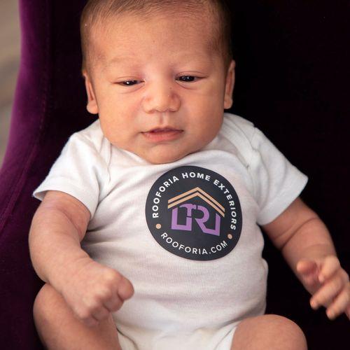Meet the newest Rooforia crew member! #futureboss