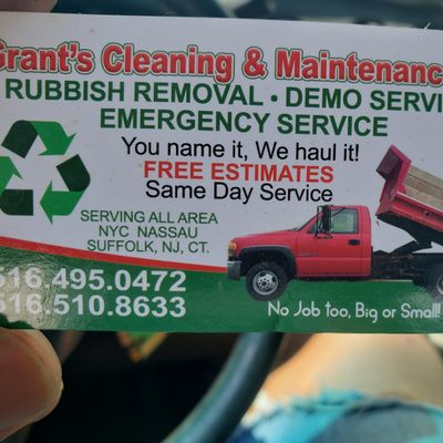 Avatar for Grant's Cleaning and Maintenance Hempstead, NY Thumbtack