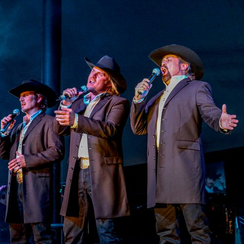 The three Tenors on Stage