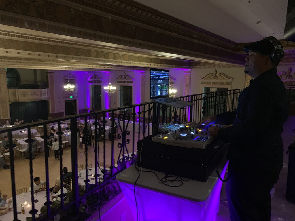 Wedding gig at Elks Tower