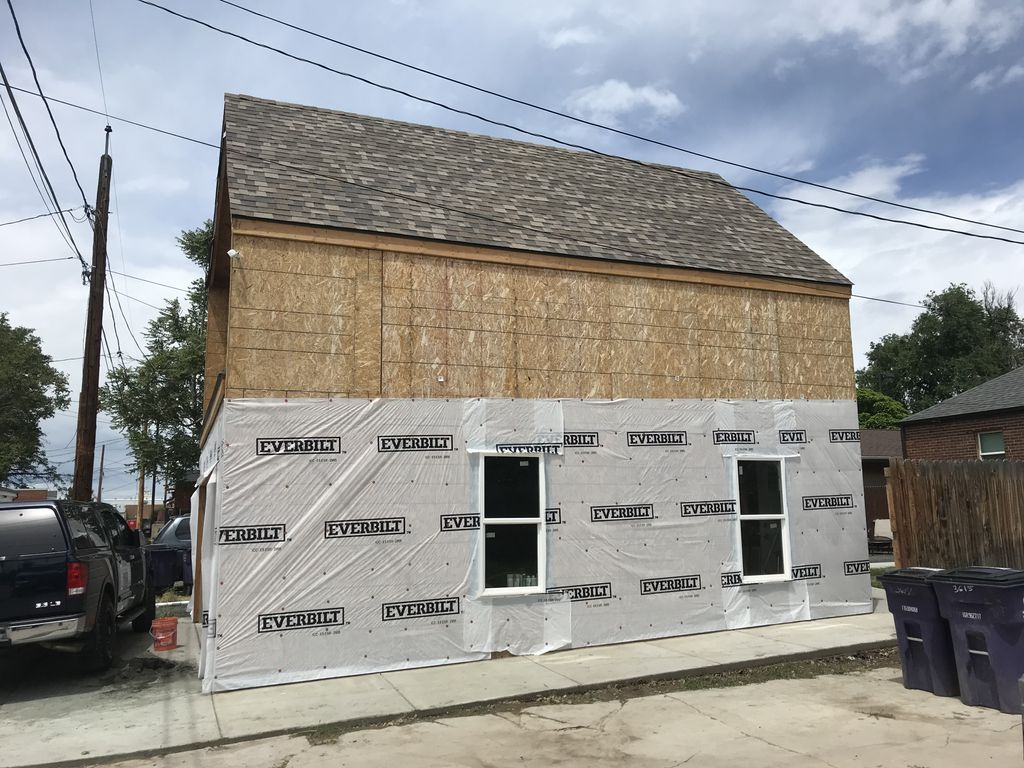 Siding for new construction