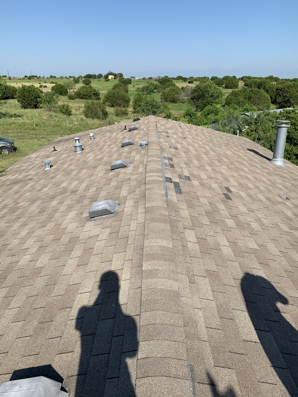Entire roof replacement