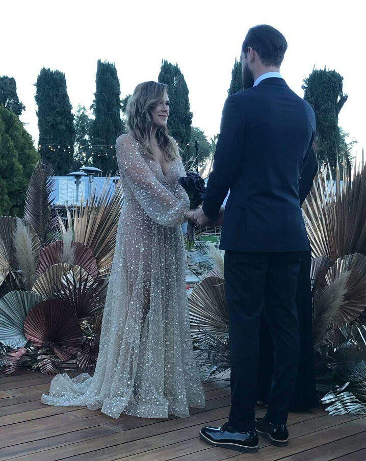 Beautiful desert wedding