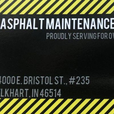 Avatar for Asphalt maintenance