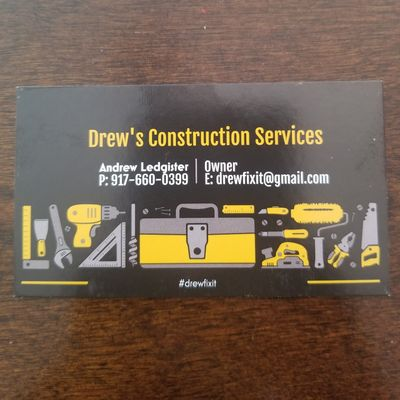 Avatar for Drew's  Construction Services