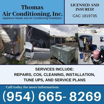 Avatar for Thomas Air Conditioning