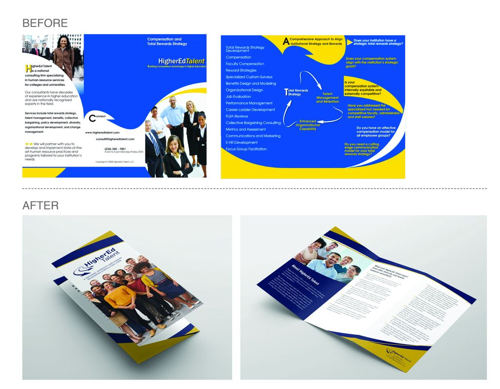 Higher Education Consulting Brochure