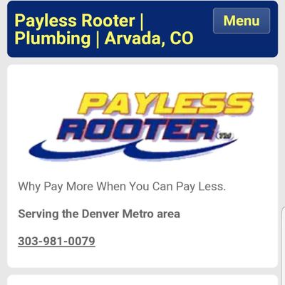 Avatar for Payless Rooter / 303 Plumbing Arvada, CO Thumbtack