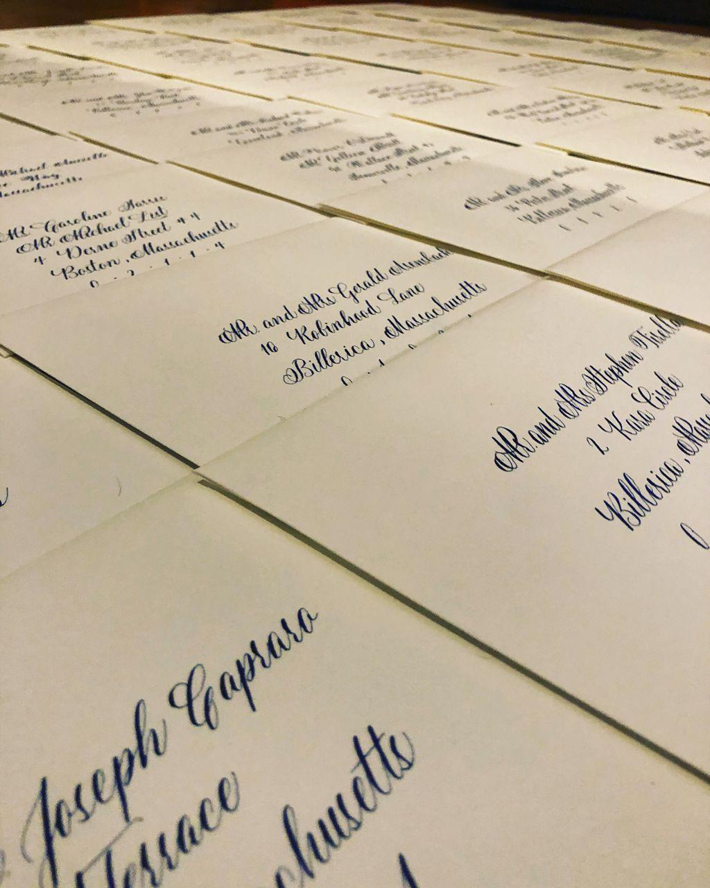 Basic Mailing Address 120 Envelopes