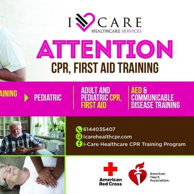 Avatar for I-Care Healthcare CPR Training Program Columbus, OH Thumbtack