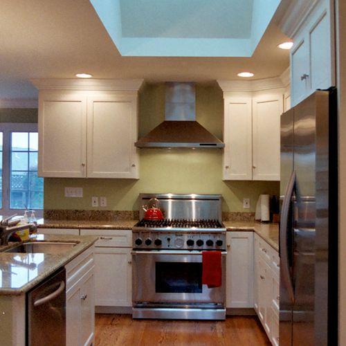 Kitchen Remodel with Island & Skylight, San Carlos, CA