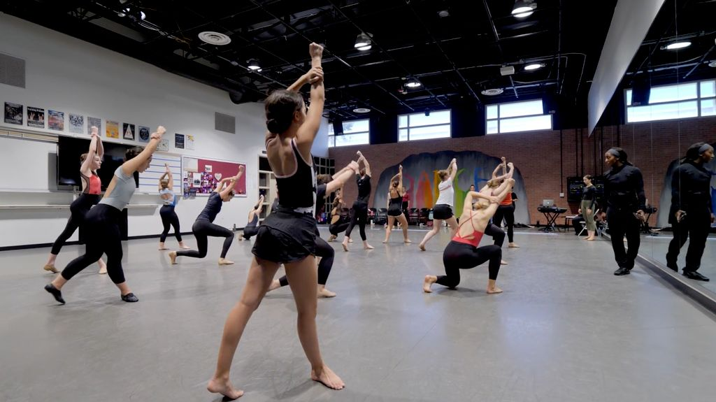 Jazz Dance Masterclass Video Ad
