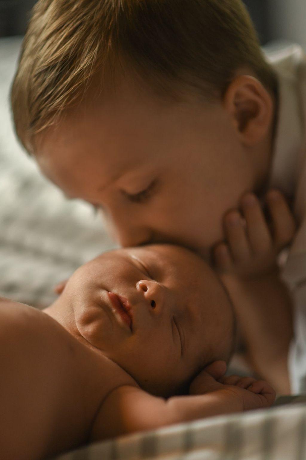 In Home Newborn Portraits
