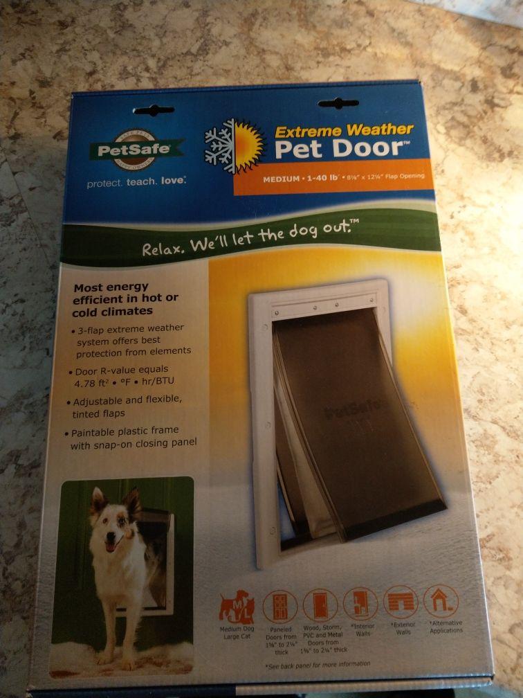 Installation of a Doggie Door