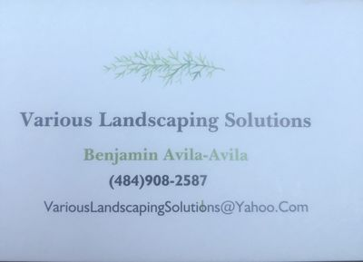 Avatar for Various Landscaping Solutions Reading, PA Thumbtack