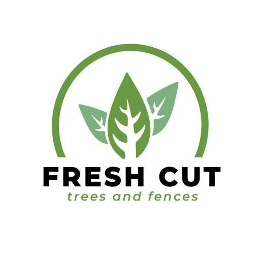 Fresh Cut Trees And Fences