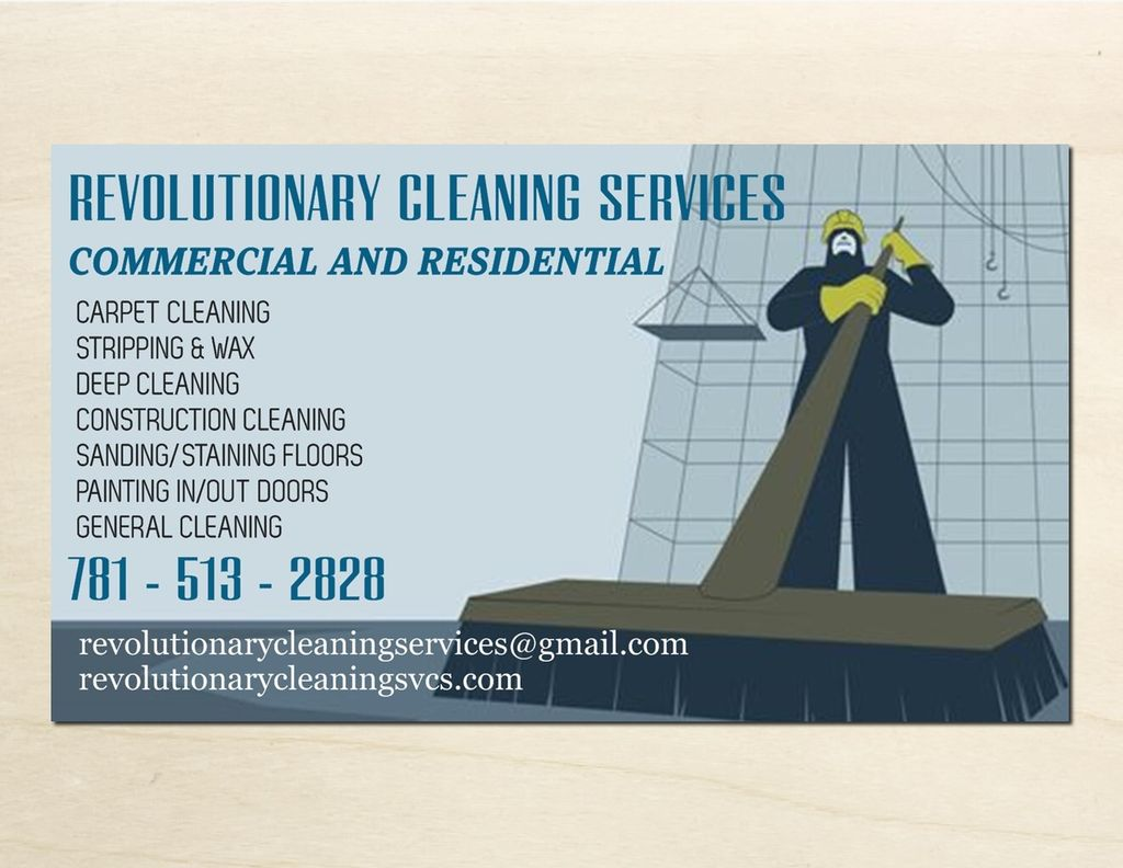Revolutionary Cleaning Services